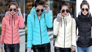 Ladies Fashion Coat - Women Outerwear Short Wadded Jacket