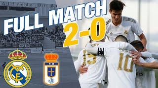 FULL MATCH: Real Madrid Castilla 2-0 Real Oviedo B