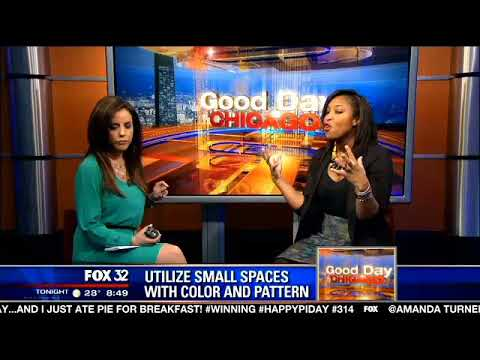 Color Small Space Good Day Chicago FOX32 Khristian A. Howell - YouTube