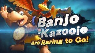 Banjo Kazooie Smash Bros Ultimate DLC Trailer E3 2019 (#BanjoKazooieSmash #E32019)