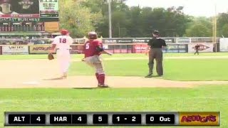Curve's Moroff legs out a lead-off triple