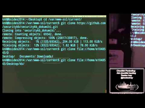 Checklist Pentesting; Not checklist hacking Trenton Ivey
