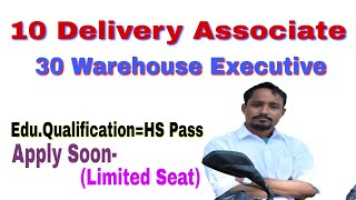 Delivery |Warehouse | Associate jobs in Assam | Warehouse/Delivery associate job || Private job ..