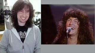 British guitarist analyses REO Speedwagon live in 1978!