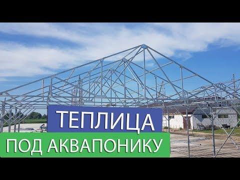 видео: Строительство теплицы, с чего все начинается...