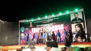 TRIPTECH 2014 group dance @ kj