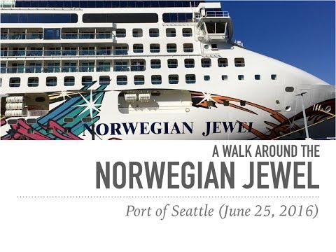 A Walk Around the Norwegian Jewel