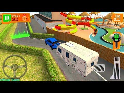 Camper Van Beach Resort #2- Minibus Driving Simulator Android Gameplay  