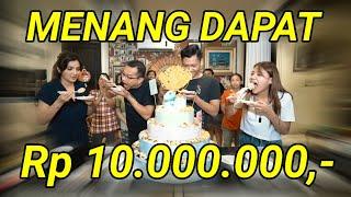 SUSHI CHALLENGE, MENANG DAPAT Rp 10.000.000 !!
