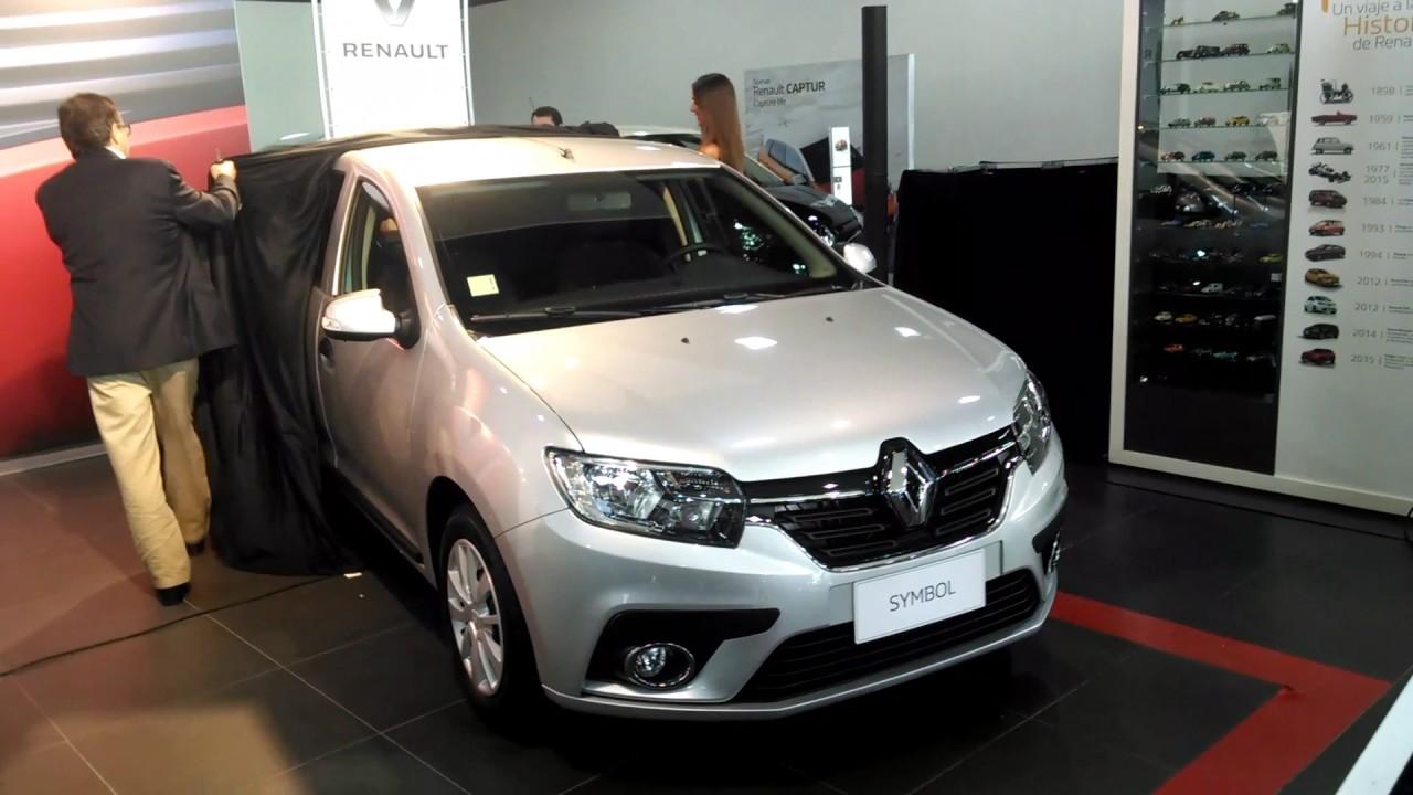 Lanzamiento Renault Symbol 2017 en Chile