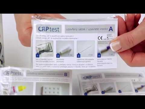 CRP test videonávod SK HD