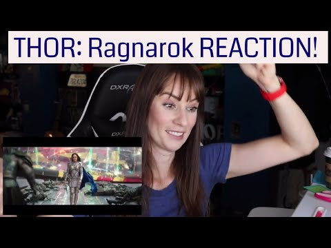 THOR : Ragnarok International Trailer #2 REACTION! (Featuring Dr. Strange)