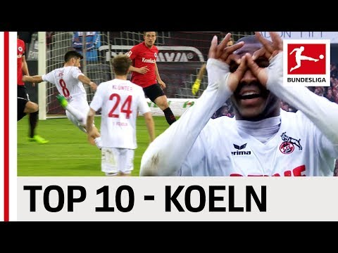 Top 10 Goals - 1. FC Köln - 2016/17 Season