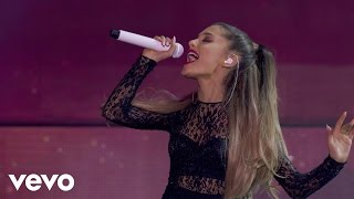 "Ariana Grande performs ""Break Free"" live on the Honda Stage at the ..."