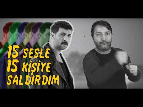 15 SESLE 15 KİŞİYE SALDIRDIM / BİR ADAM 15 SES / COVER