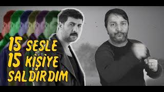15 SESLE 15 KİŞİYE SALDIRDIM / BİR ADAM 15 SES / COVER Resimi