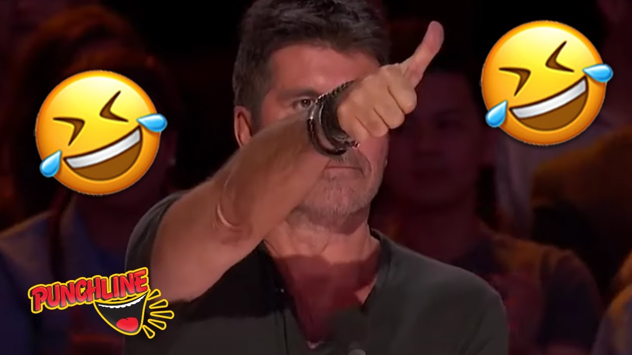 COMEDIAN GETS THUMBS UP FROM SIMON COWELL! America's Got Talent