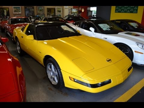 sold 1995 yellow corvette zr1 for sale by corvette mike anaheim california 92807 youtube. Black Bedroom Furniture Sets. Home Design Ideas