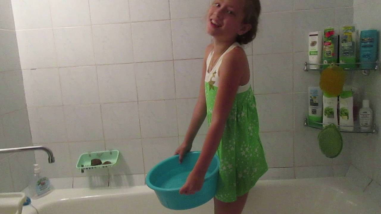 ice bucket challenge-Вызов принят!