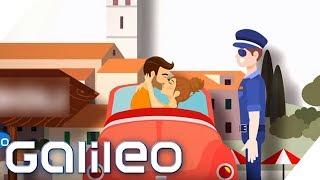 In diesem Land ist Knutschen im Auto verboten | Galileo | ProSieben