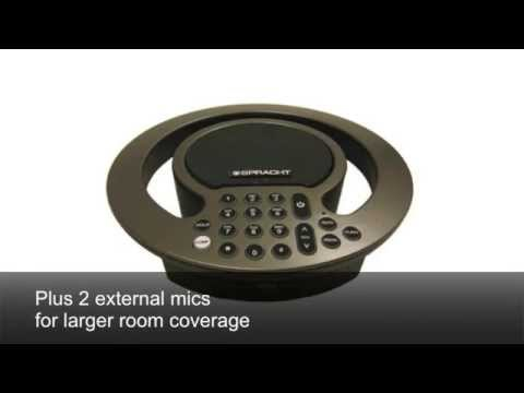 AURA SoHo™ & AURA SoHo™ Plus conference phones from Spracht