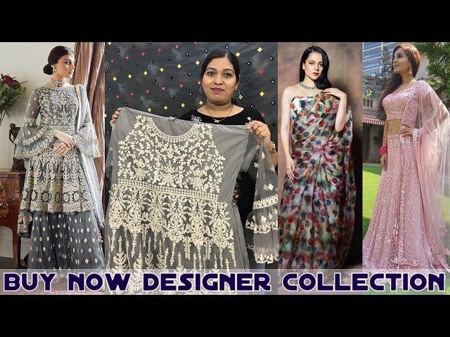 Buy Designer Cloths at Affordable Price Online #kanganasaree #netsalwarkameez #prititrendz #online