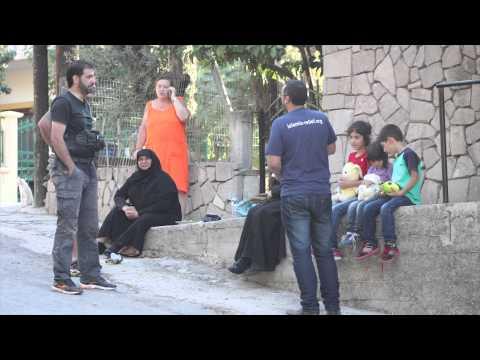 Islamic Relief Emergency Response Team On The Greek Island of Lesvos