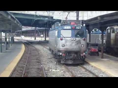 VRE Train 336 Alexandria to Washington Union Station Express