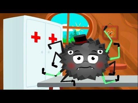 Мультфильм - Лечим животных! Видео игра! #игровой мультик для маленьких детей.