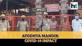 Ram Mandir: Watch Coronavirus pandemic's impact on Ayodhya temple construction