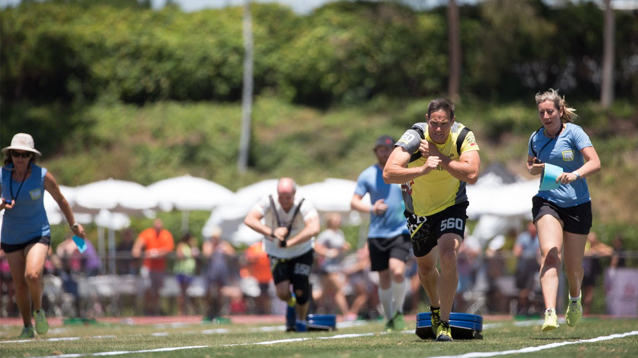 Crossfit Games Masters Live Stream Max Distance Sled