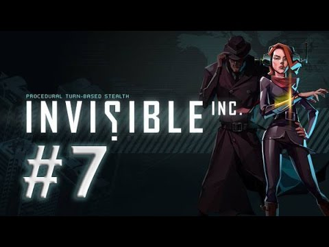 Invisible Inc. Walkthrough - Mission 7