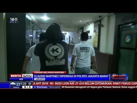 Pesinetron Claudio Martinez Diringkus Polisi Karena Konsumsi Sabu Mp3