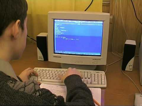 урок информатики знакомство с компьютером