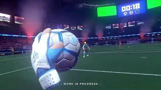 Virtual Soccer Zone - Goalkeeper Gameplay