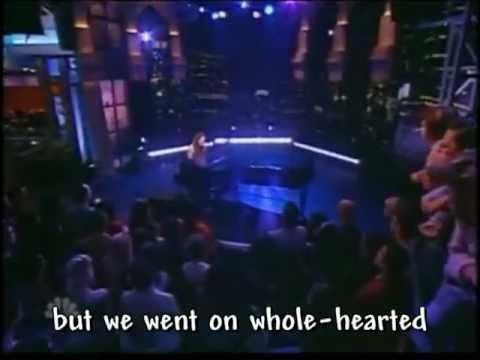 Fiona Apple Parting Gift (live on Ca.rson Show - lyrics on screen ...