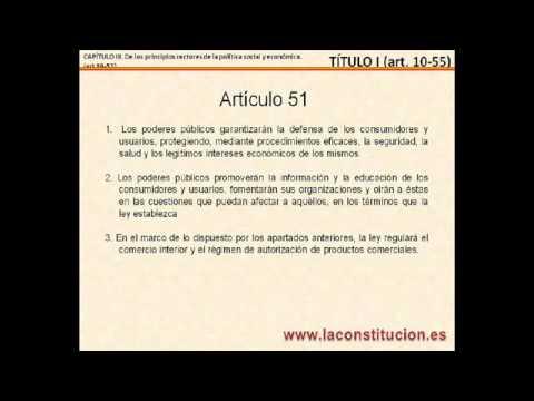 Titulo I - Parte 3 - Art. 39 - 50 de la Constitucion