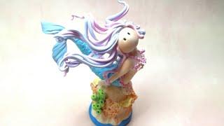 Mermaid/ Sereia - Polymer clay(Fimo) Tutorial