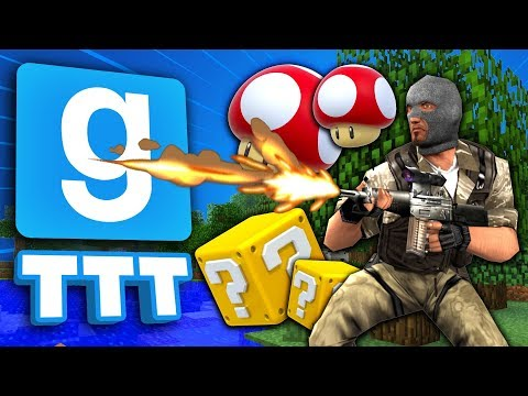 EVERY GAME IN ONE MAP   Gmod TTT