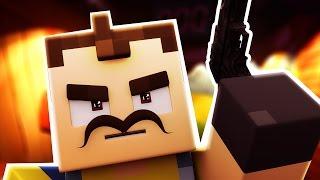 Minecraft - HELLO NEIGHBOR - NEIGHBOR MURDERS ME?! (Minecraft Roleplay)