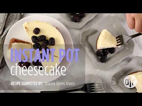 How to Make Instant Pot Cheesecake | Dessert Recipes | Allrecipes.com