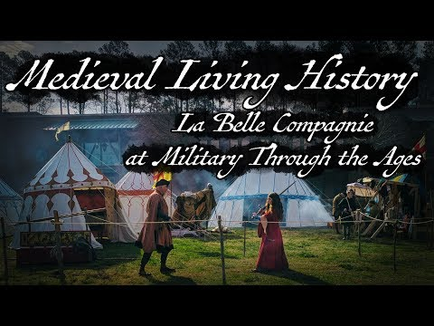 Medieval Living History:  What We Do With All That Stuff!