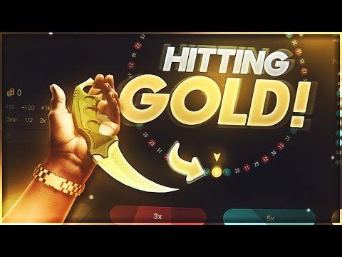 *OMG* GEISTESKRANKER GOLD HIT !!! | 450$ AUF CSGOEXCLUSIVE