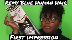 Remy Blue Virgin Human Hair | First Impression