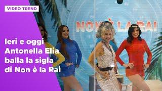Ieri E Oggi Antonella Elia Balla La Sigla Di Non è La Rai