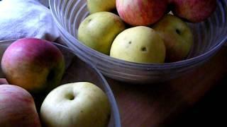 Apfel Kuchen (apple Kuchen -- Cake) -- Very Easy!
