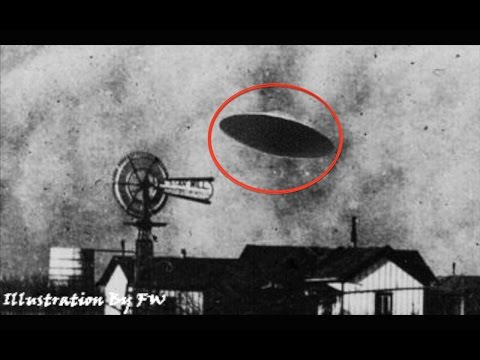 STRONGEST EVIDENCE OF ALIEN VISITORS: The Aurora, Texas UFO Incident, 1897