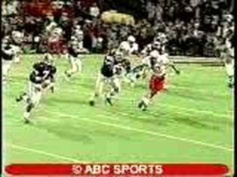 1998 #1 K-State Wildcats vs #11 Nebraska: Michael Bishop to Darnell McDonald for the touchdown