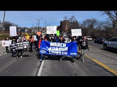 MARCH FOR OUR LIVES - Ann Arbor, Michigan