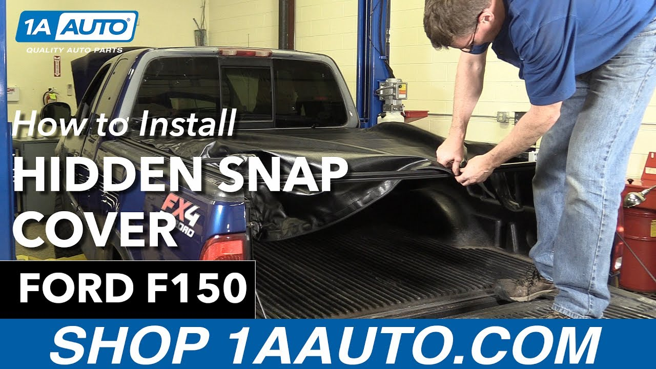 How To Replace Hidden Snap Tonneau Cover 97 04 Ford F 150 Youtube